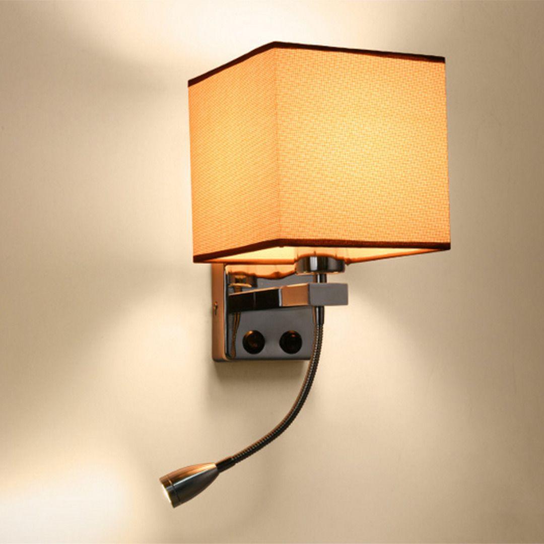 Modern E27 LED Wall Lamp Living Room Wall Light for Bedroom Bedside Hotel Night Light Lamp Mayitr