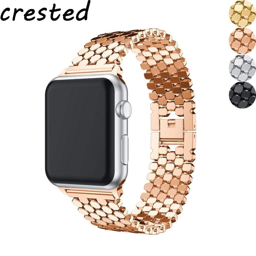 Link bracelet strap for Apple watch band 42mm/38mm iwatch 4 band 44mm/40mm metal belt watchband bracelet Apple watch 4 3 2 1