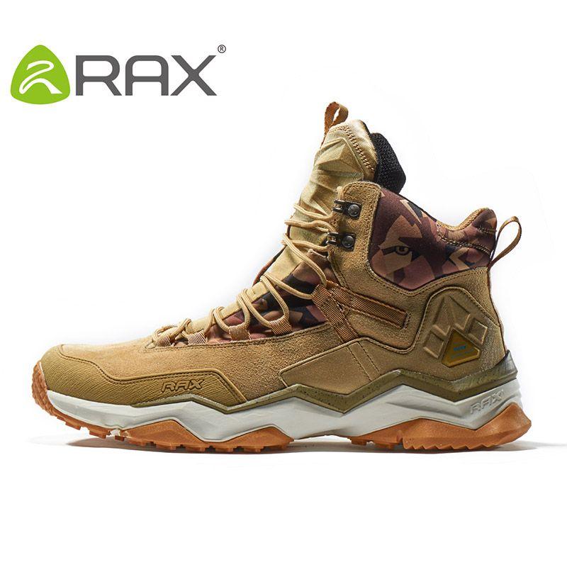 RAX 2019 chaussures de randonnée imperméables pour hommes bottes de randonnée d'hiver hommes bottes de plein air escalade marche alpinisme chaussures de randonnée
