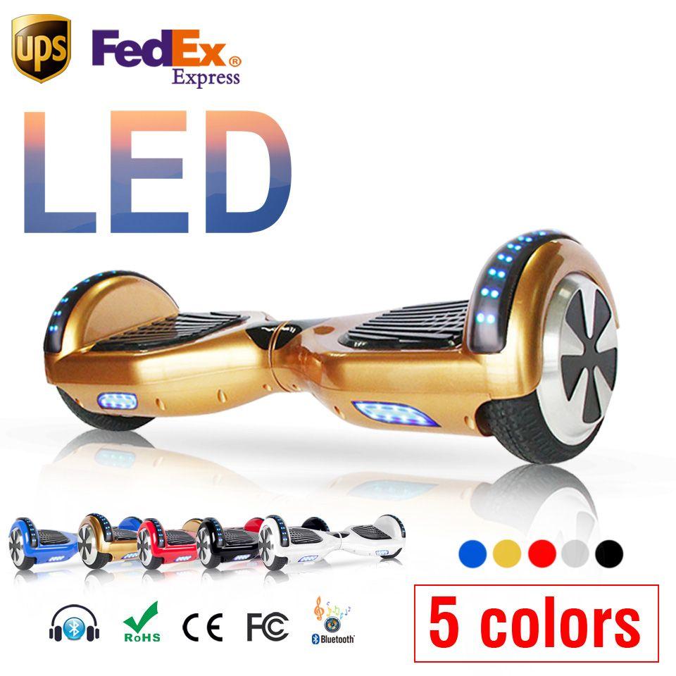Gold deskorolka elektryczna balancing roller elektrische bord skateboard roller hoverboard hulajnoga skuter elektryczna deska