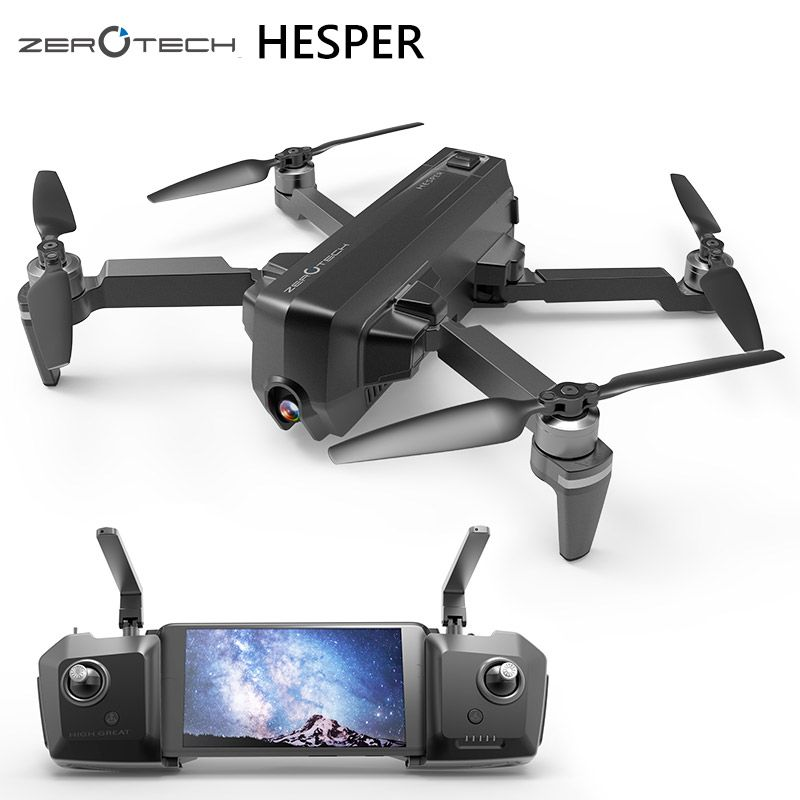 Zerotech HESPER 4K Drone FPV With HD Camera 1080P GPS+VPS Smart Gimbal Selfie Camera Foldable RC Quadcopter drohne Helicopter