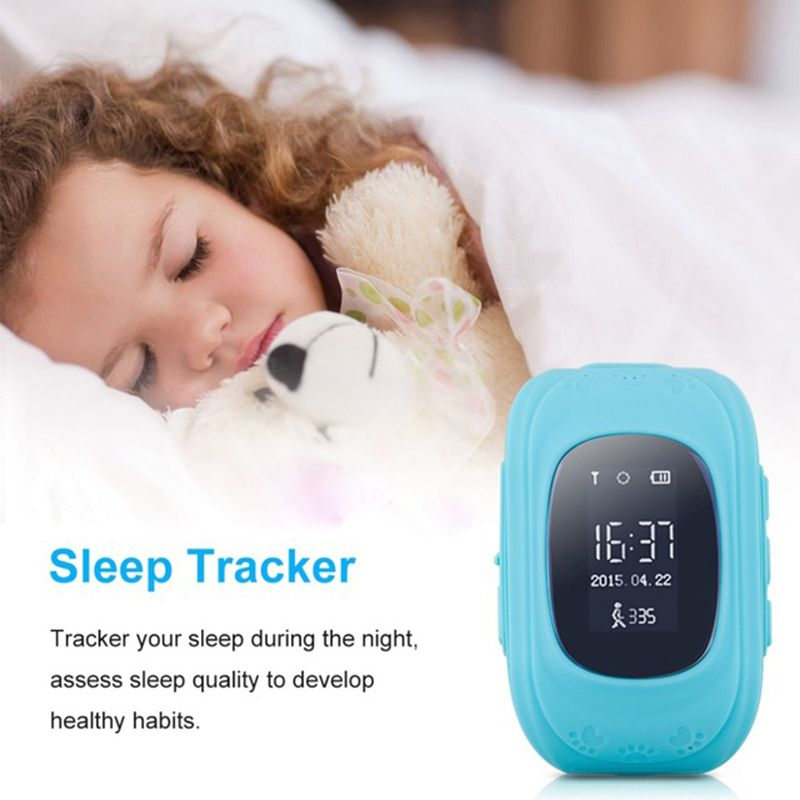 Q50 OLED Screen GPS Smart Kid Watch SOS Call Location <font><b>Finder</b></font> Locator Tracker for Children Anti Lost Monitor Baby Wristwatch c7