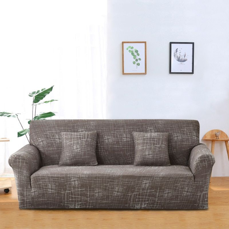1 PC Sofa Cover Tight Wrap All-inclusive Slip-resistant Stretch Seat Covers Elastic Sofa Towel Single/Two/Three/Four-seater