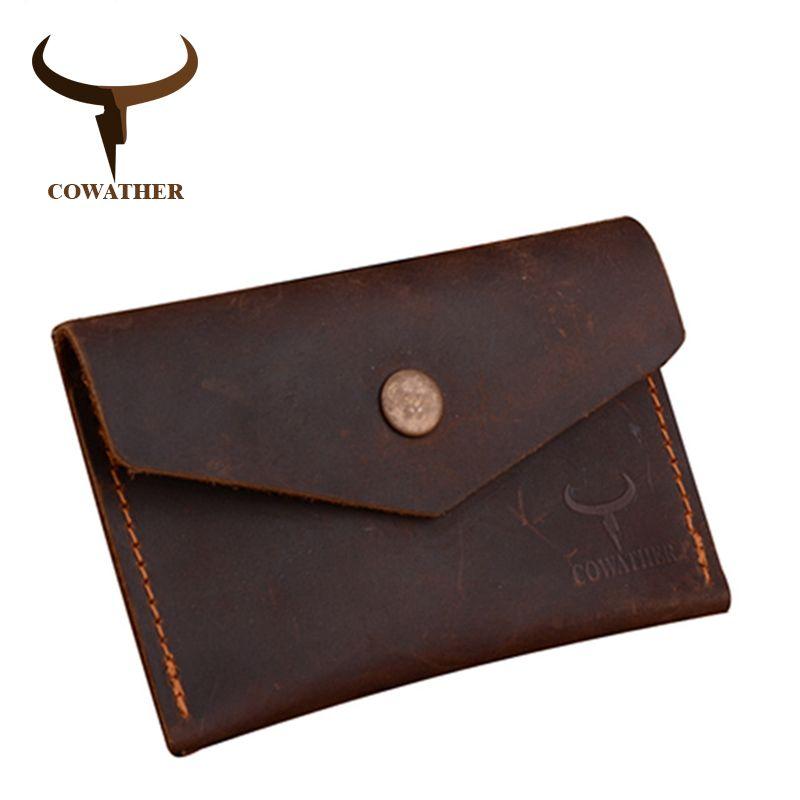 Vache 100% Crzay cheval de haute qualité en cuir hommes portefeuille de luxe homme sac à main dollor prix carteira masculina 111 livraison gratuite
