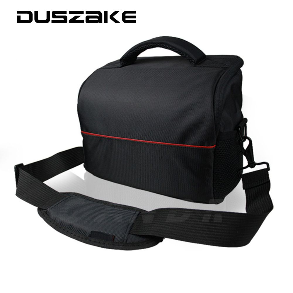 DSLR Shoulder Lens Camera Bag For Canon EOS 1100D 700D 650D 600D 550D <font><b>Nikon</b></font> P900 D7200 D40 D5300 Sony NEX A6000 A6300 RX100