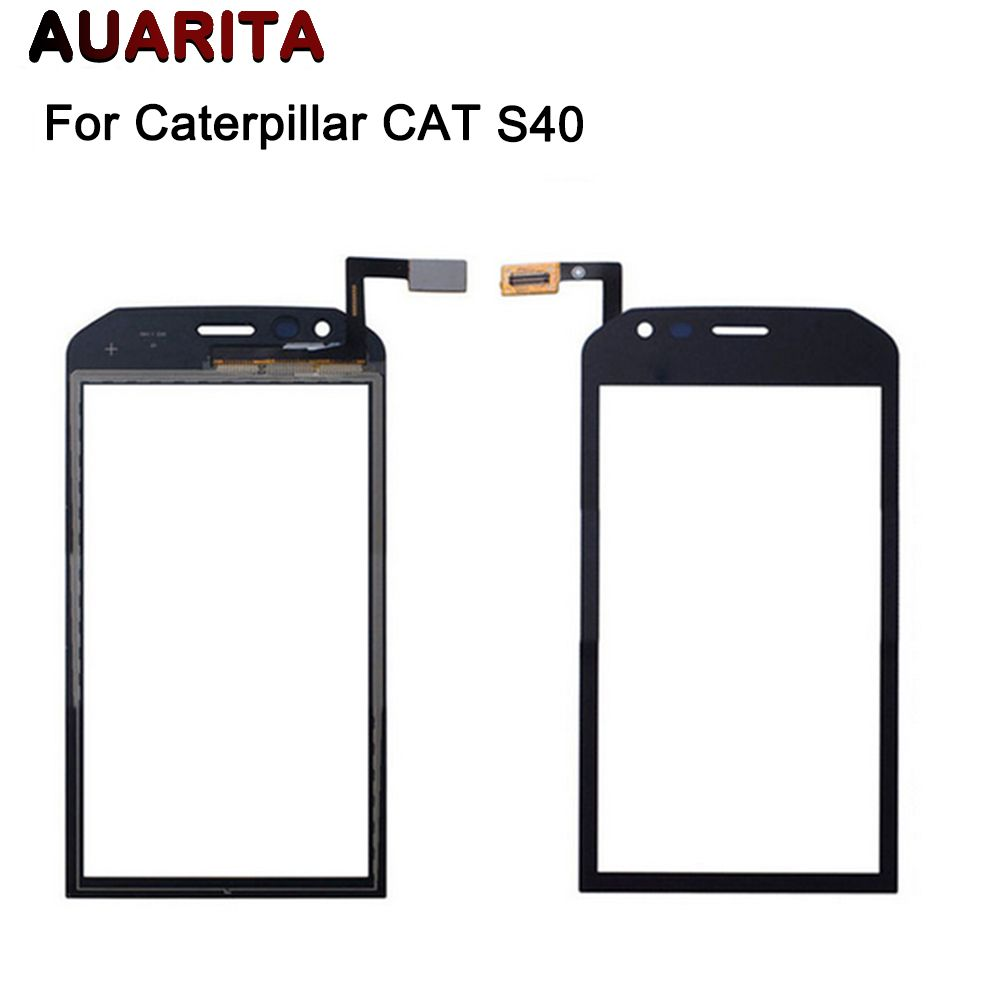 Touch Screen Digitizer For Caterpillar CAT  S40 S 40 Touch Screen Sensor Perfect Repair Parts Touch Panel+Tools Free Shipping