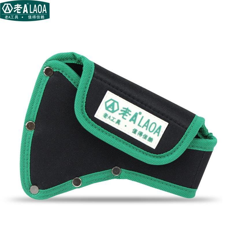 Sac de taille de hache de haute qualité LAOA taille 190mm * 150mm * 80mm sac de menuiserie de poche de hache