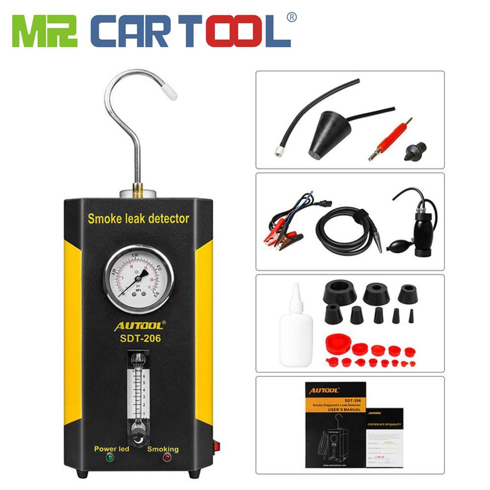 AUTOOL SDT-206 Car Smoke Machines For Sale For Cars Leak Locator Automotive Diagnostic Leak Detector SDT206 Auto Diagnostic tool