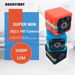 SQ11 Mini DV Camera Full HD 1080P Infrared Night Vision Sports HD Micro Cam Motion Detection Camcorder DV Video Voice Recorder