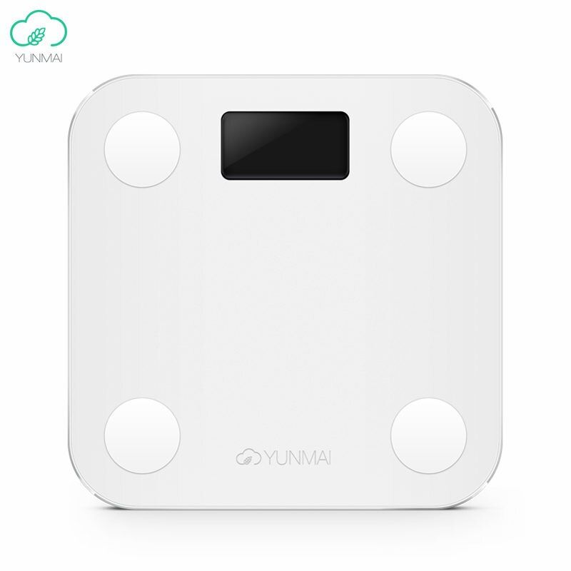 International Version Yunmai Mini Smart Weighing Scale Digital <font><b>Body</b></font> Fat Health Loss Weight SCALES BMI Muscle Rate For APP Remote