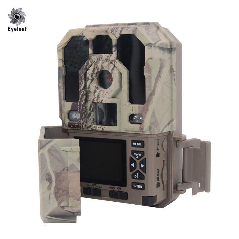 Eyeleaf foto fallen digitale überwachungskamera jagdkamera falle HD 1080 P 940NM 12mp 48 stücke FÜHRTE lange nacht abstand jagd camcorder