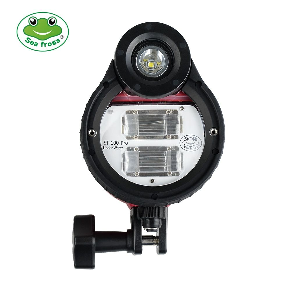 Waterproof Flash Strobe for Sony Canon Fujifilm Nikon ect All Seafrogs Meikon Underwater Camera Housings Case + Optical Cable