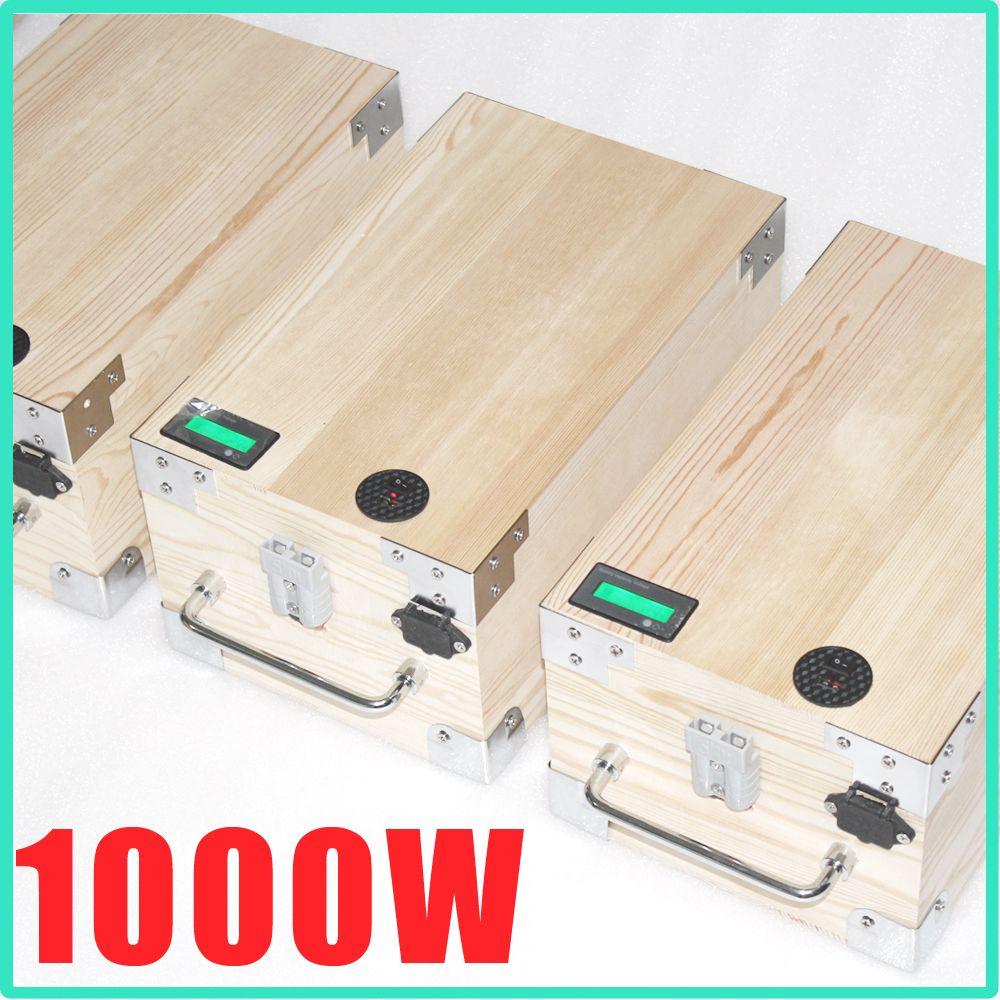 lifepo4 battery 48v 20ah electric bike battery 1000W bafang kits battery