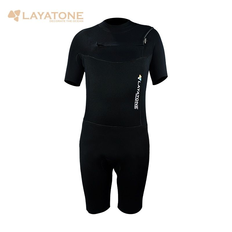 Surfing Suit Watersports Diving Suits Wetsuit 3mm Neoprene Surf Wet Suit For Windsurf Sailing Scuba Dive Short Sleeves Pants