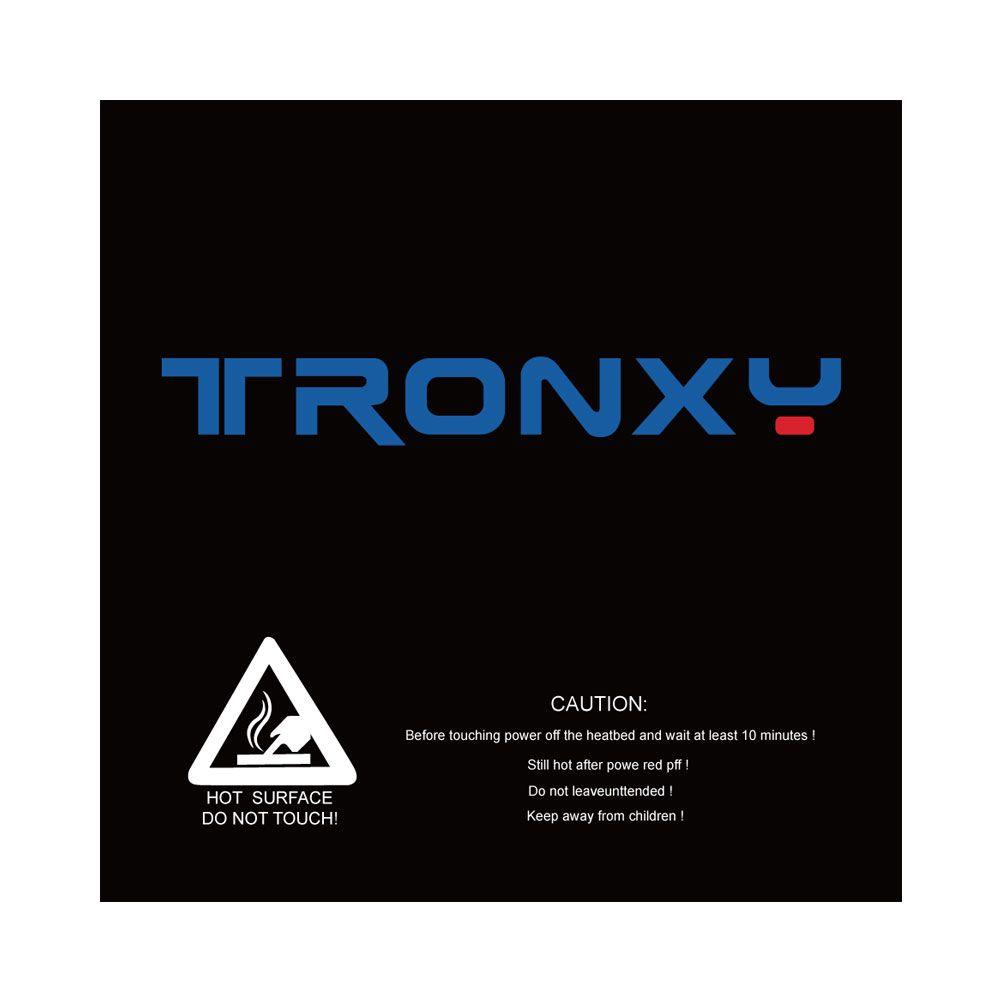 Tronxy schwarz masking tape 3d drucker heatbed aufkleber brutstätte band 210*200mm 330*330mm