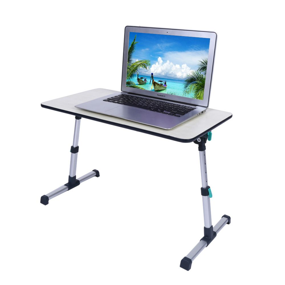 Foldable Standing Desk Laptop Computer Table Portable Sofa Bed Breakfast Tray Laptop Table Notebook Desk