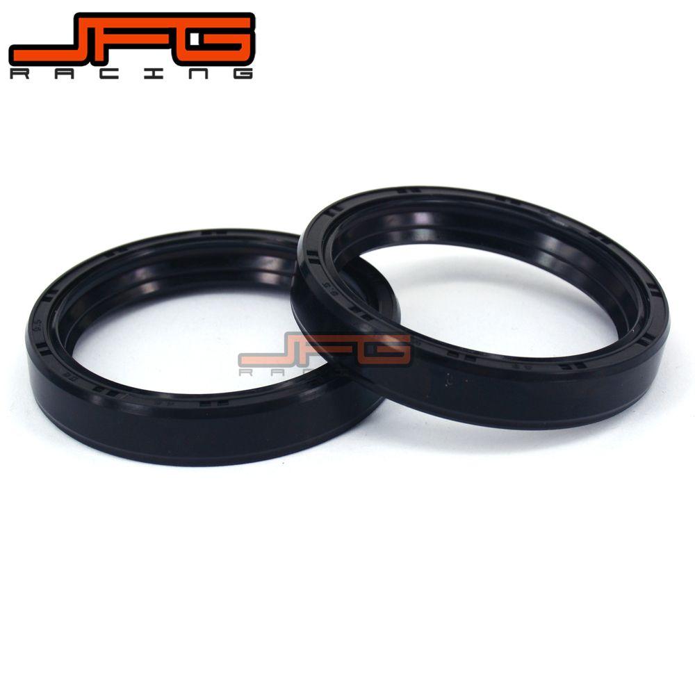 Motorcycle Parts Front Fork Damper Oil Seal For CR125R CR250R CR500R CBR600RR VTX1800C GL1500C Motorbike Shock Absorber