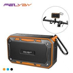 IPX67 водонепроницаемый Портативный FM bluetooth-динамик на открытом воздухе и семьи стерео беспроводной динамик для телефона и ноутбуки большой м...