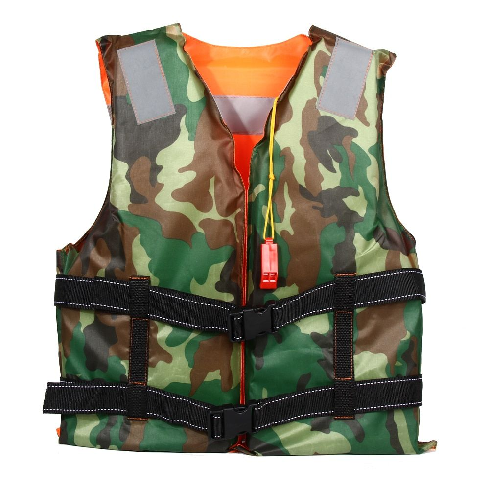 1pcs Adult Swimming Life Jacket Vest Foam Boating Ski <font><b>Fishing</b></font> Drifting Safety Jackets Colete Salva Vidas With Whistle Prevention