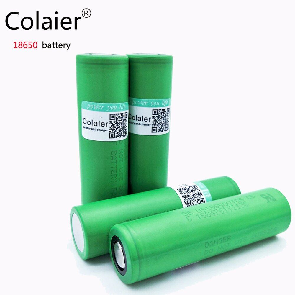 Colaier 100% Original 30A Discharging 3.7V US18650 VTC5 2600mAh Rechargeable Batteries For Sony 18650 Battery/E-Ciga