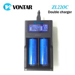 VONTAR Smart LCD USB Battery Charger Smart  for 26650 18650 18500 18350 17670 16340 14500 10440 lithium battery 3.7V