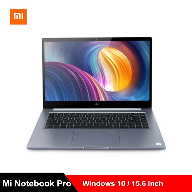 2019 Xiao mi mi Notebook Pro mi Laptop 15,6 zoll Win10 Intel Core i7-8550U/i5-8250U GeForce MX150/MX250 8 GB/16 GB RAM 256 GB SSD PC