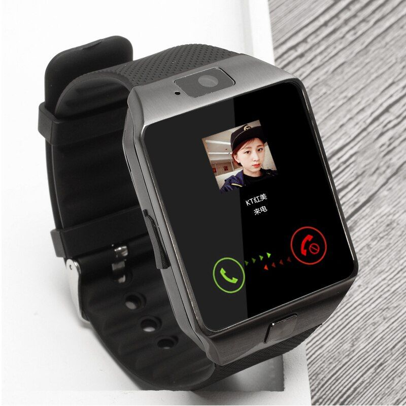 BAGGEE Bluetooth Smart Watch Support SIM TF Card <font><b>Wristwatch</b></font> For Android and IOS Phone Camera Pedometer PK DZ09 GT08 Men Or Women