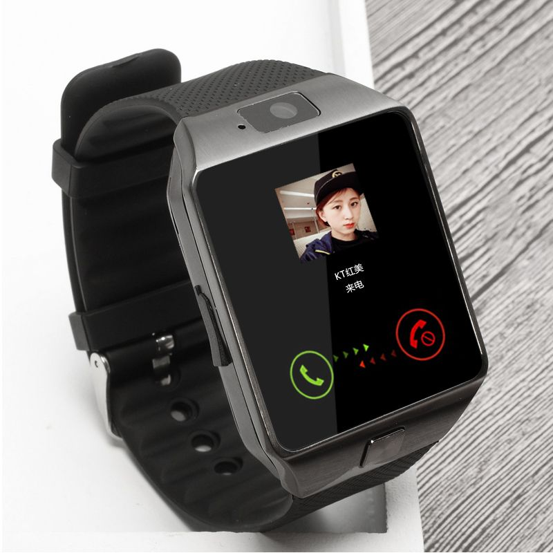 BAGGEE Bluetooth Smart Watch <font><b>Support</b></font> SIM TF Card Wristwatch For Android and IOS Phone Camera Pedometer PK DZ09 GT08 Men Or Women