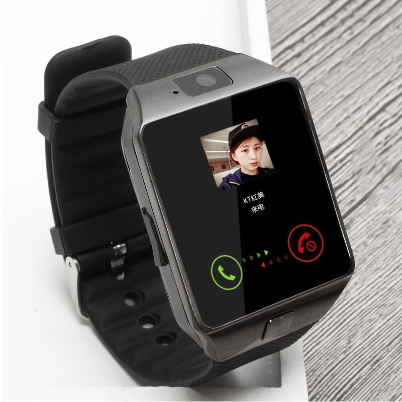 BAGGEE Bluetooth Smart <font><b>Watch</b></font> Support SIM TF Card Wristwatch For Android and IOS Phone Camera Pedometer PK DZ09 GT08 Men Or Women