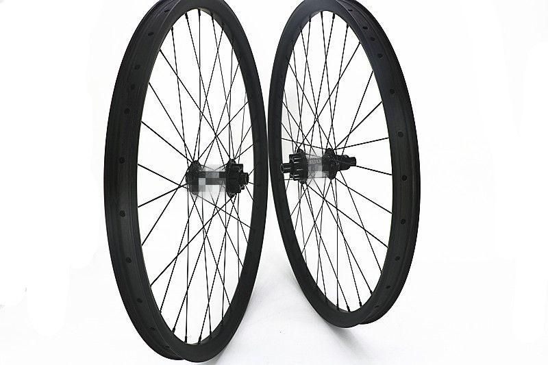 Carbon 27.5er BOOST NABEN MTB bike räder UD matte 28 H 32 H Mountainbike räder 350 s 6 boit 100 x15mm 142x12mm Zentrale schloss