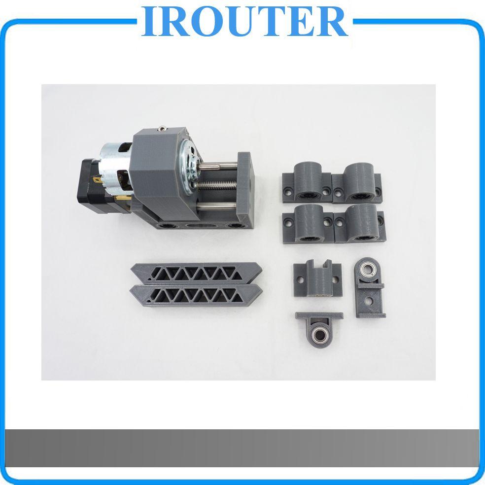 Cnc1610 cnc2418 cnc3018 machine pièces, cnc Accessoires, Broche Vis À ongles pod fixe pièces, cnc 1610 2418 3018