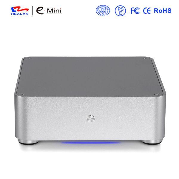 Realan HTPC Cas avec la dernière conception, Commercial PC Cas De Bureau
