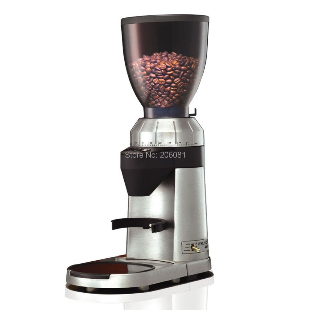 Welhome WPM professional conical burr coffee grinder / mill with factory directly sale and excellent service and best price