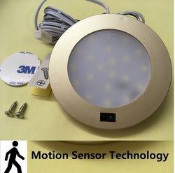 3 W LED bajo luz del Gabinete abajo blanco puro del techo lámparas con Sensor de movimiento interruptor barco/RV caravana Auto accesorios de Camping