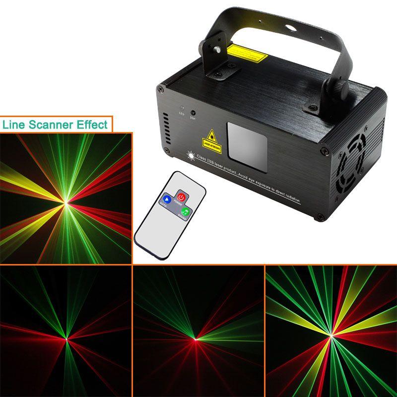 New Model RGY DMX512 Laser Stage Lighting Scanner effect light Smoke DJ Disco Party Xmas Lights Show Remote Digital D73