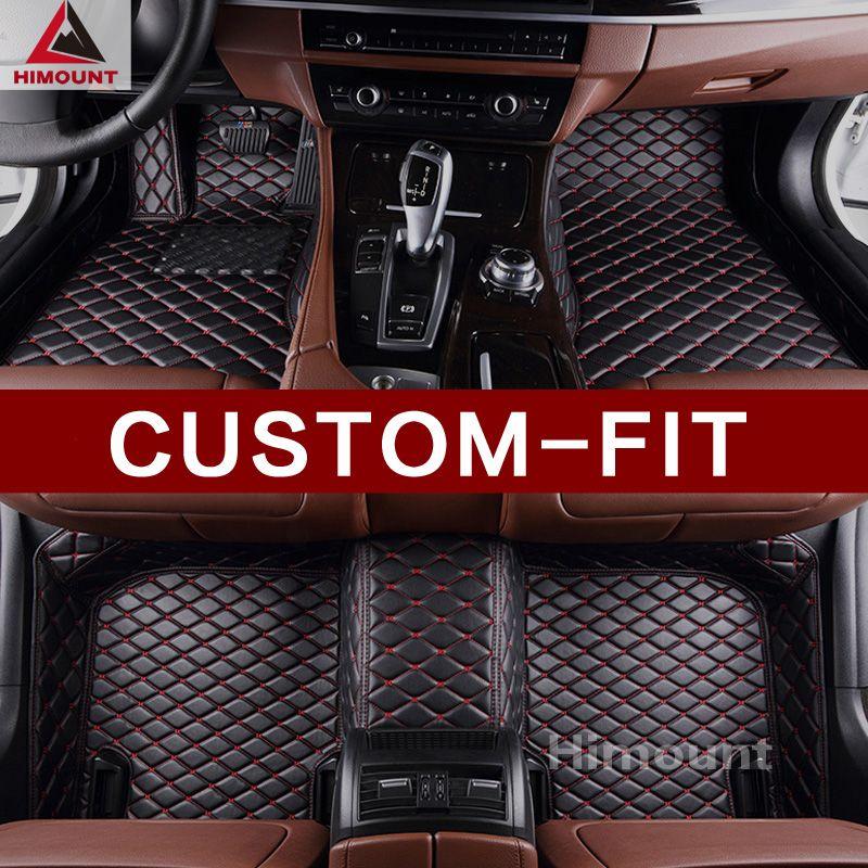 Custom made car floor mats for Alfa Romeo Giulia 952 Quadrifoglio Stelvio 3D car styling all weather luxury carpet rugs liners