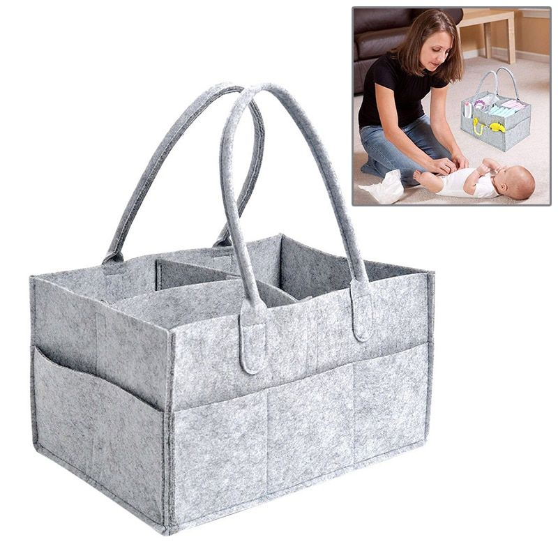 Baby Diapers Nappy <font><b>Changing</b></font> Bag Mummy Bag Bottle Storage Multifunctional Maternity Handbags Organizer Stroller Accessories