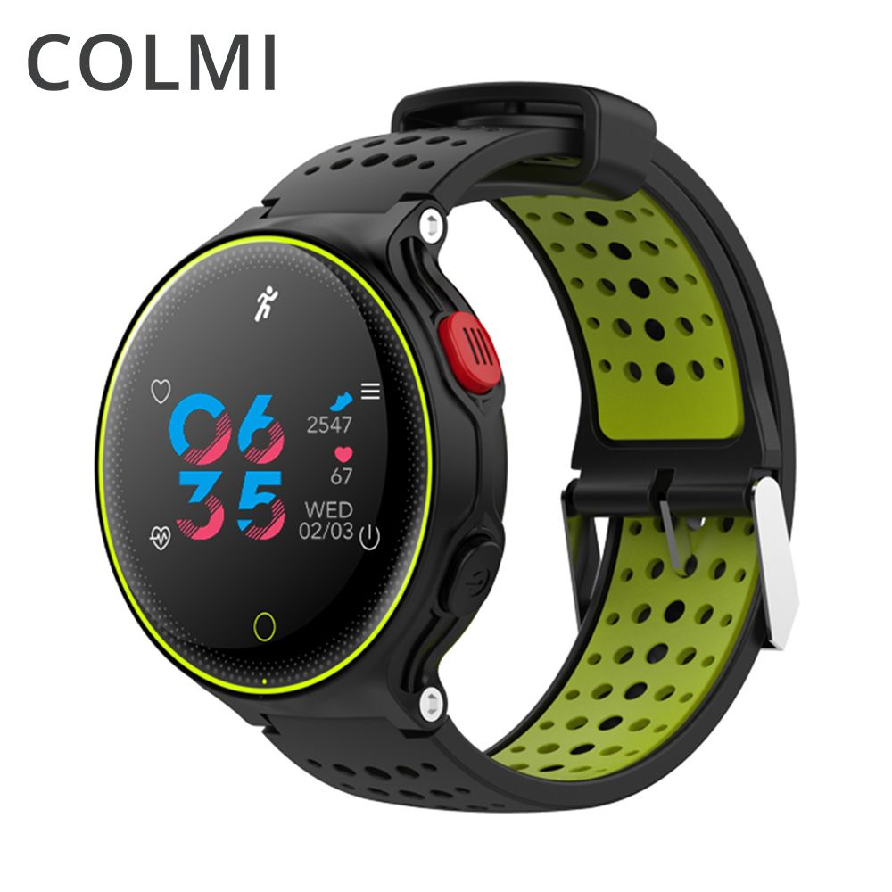 ColMi Smartwatch Heart <font><b>Rate</b></font> Tracker IP68 Waterproof Ultra-long Standby For IOS Android Phone Smart Watch