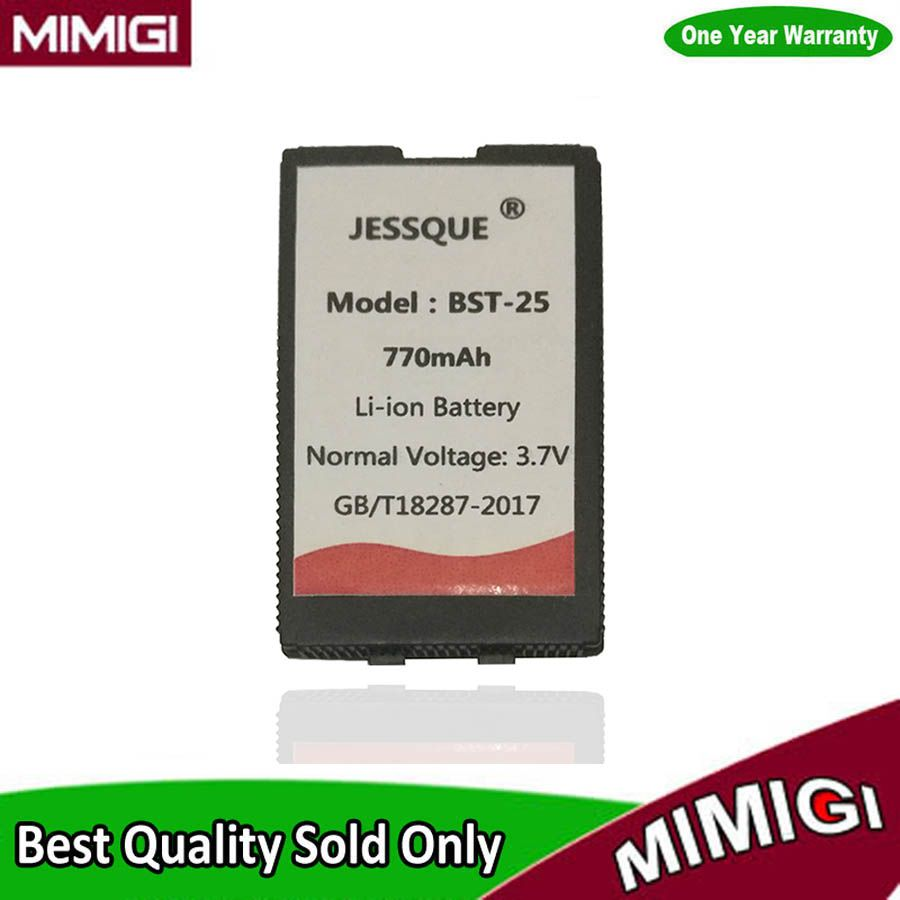 JESSQUE 770mAh BST-25 Battery For Sony Ericsson T610i T606 T608 T610 T616 T628 T630 T637 OF01 BST25 Bateria Betterie AKKU
