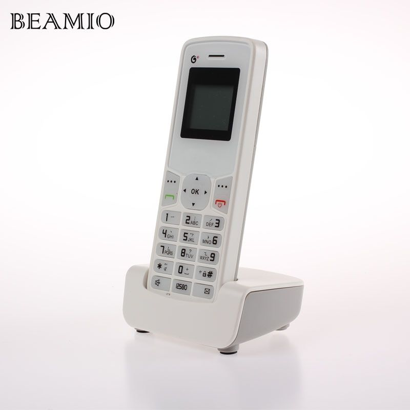 TD-SCDMA GSM 900/1800MHZ Cordless Landline Phone Colorful ScrTelephone With SIM Call ID Fixed Wireless Telephone For Home Office