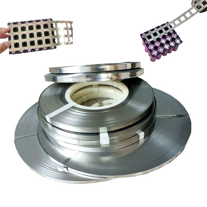 1kg Pure Nickel Strip 99.96% High Purity Lithium Battery Nickel Strip 0.15*6mm 0.15*8mm 2P 4P For 18650 Spot Welding Nickel Belt