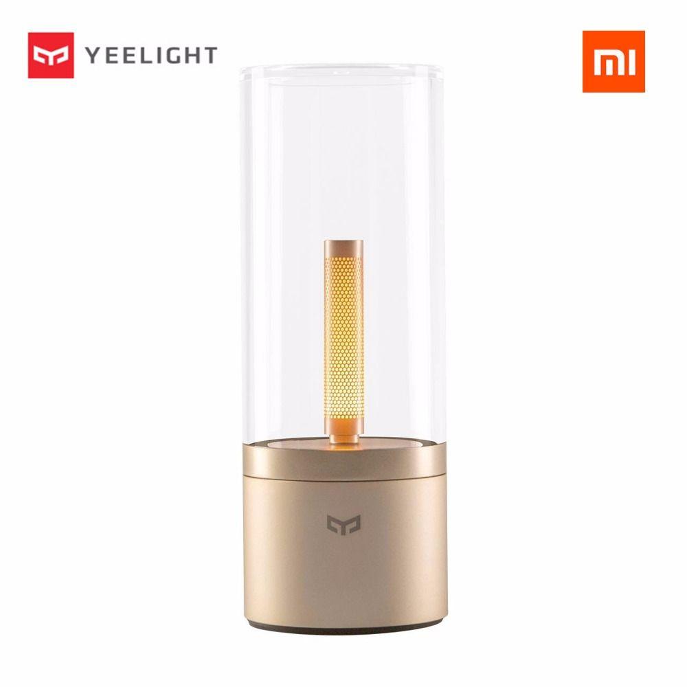 Original Xiaomi Mijia Yeelight Candela Led Nacht ight, Die Smart Stimmung Kerze licht, Für xiaomi Mi hause App