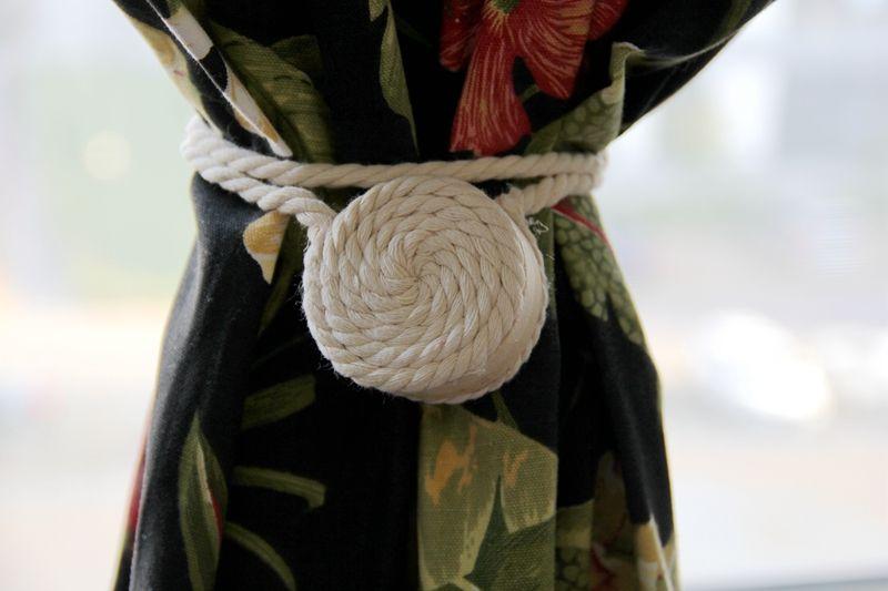Mode magnétique rideau boucle, balle bandage rideau clip pastorale rideau sangle accessoires aimant embrasses une paire