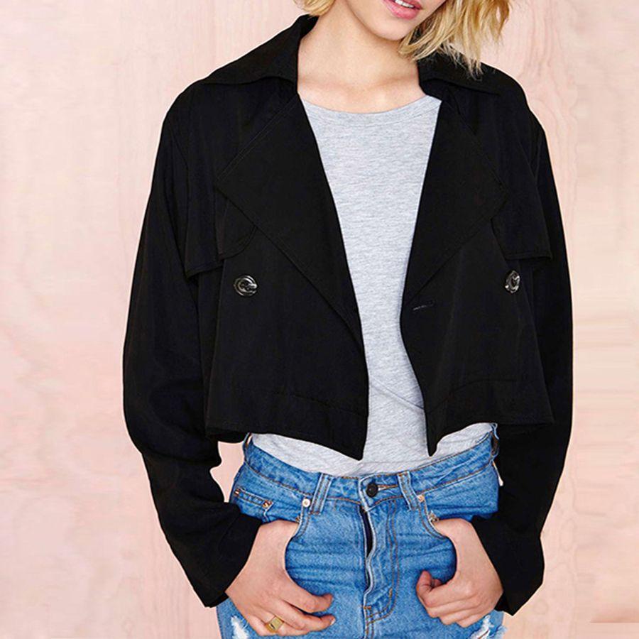 Solid Winter Autumn Ladies Coats Women Plus Size 2017 Long Sleeve Loose Casual Coat Jassen Vrouwen Womens Clothing 50Q0015