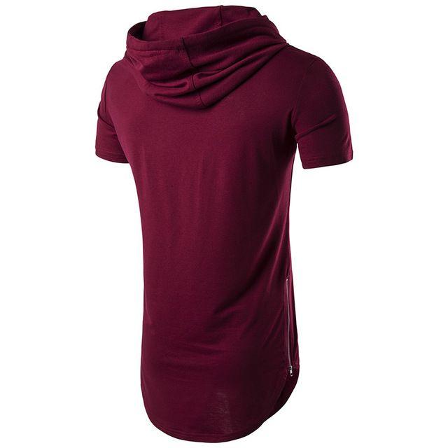 Sommer Mens Fashion T-Shirts Drucken Linie Schwarz Marke Kleidung Mann Kurzarm Slim Fit T Shirts Männlichen Tragen Tops