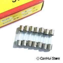 100 pcs 5*20 Verre Fusible Rapide Fusible Pas Fusible Kit 250 V 0.1A 0.2A 0.5A 1A 2A 3A 4A 5A 6A 7A 8A 10A 12A 15A 20A Coup Rapide 5x20mm chaude