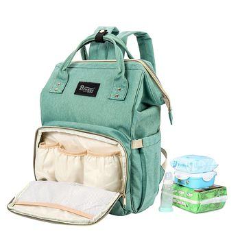 Baby Diaper Bags Travel for women nylon Large Mother Organizer wheels backpacks canvas handbag multifunction Duffle kit bolsa