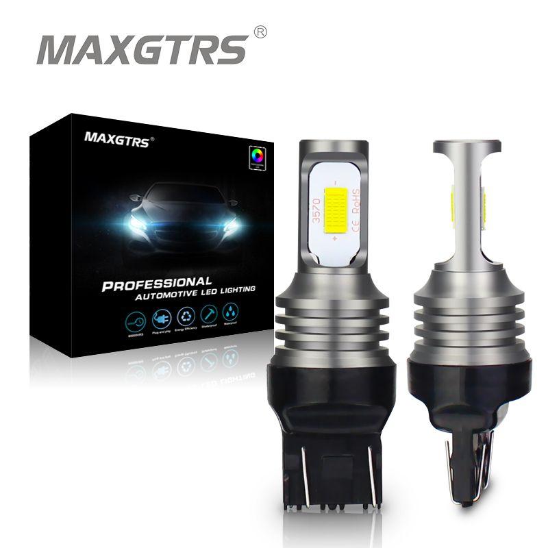 2018 T20 7443 Led W21/5 Watt 7441 7444 992 3570 Chip Canbus Led lampe für Auto Führte Unterstützungsrücklichter Schwanz Bremse Bremsleuchte White