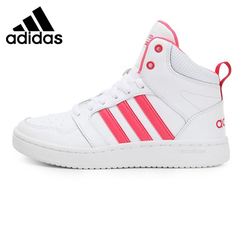 Original New Arrival 2017 Adidas NEO Label SUPERHOOPS MID Women's  Skateboarding Shoes Sneakers