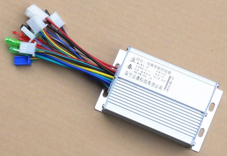 450W DC60V 9 MOFSET brushless controller, BLDC motor controller / E-bike / E-scooter / electric bicycle speed controller